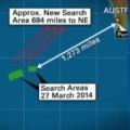 Tin tức - Thay đổi khu vực tìm kiếm MH370 ở Ấn Độ Dương