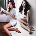 Thời trang - Ghen tị với chân nuột của Tăng Thanh Hà