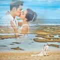 Làng sao - Thêm hình ảnh cưới lãng mạn của Nghiêm Khoan