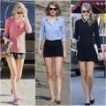 Thời trang - Đẹp trời, Taylor Swift liên tục khoe chân dài