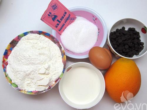 banh muffin cam va so co la thom ngon - 1
