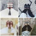 """Thời trang - Tín đồ cuồng """"tự sướng"""" khoe giày"""