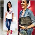 Thời trang - Tuần qua: Hà Tăng mặc giản dị vẫn rạng ngời
