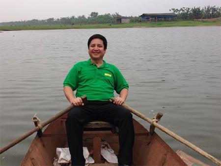 """lam chi khanh """"do sac"""" cung luong bich huu - 14"""