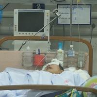 Nữ sinh bị đâm ở Xã Đàn chuyển khoa Phẫu thuật thần kinh