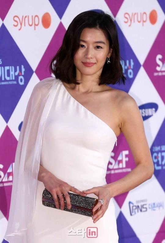 """minh tinh trai dat"" jeon ji hyun chien thang daesang - 8"