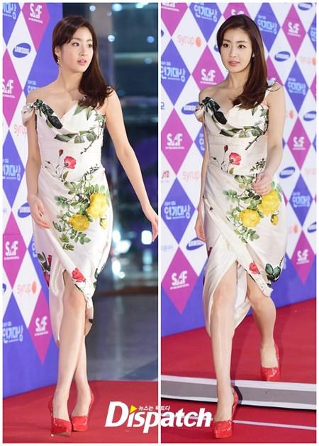 """minh tinh trai dat"" jeon ji hyun chien thang daesang - 14"