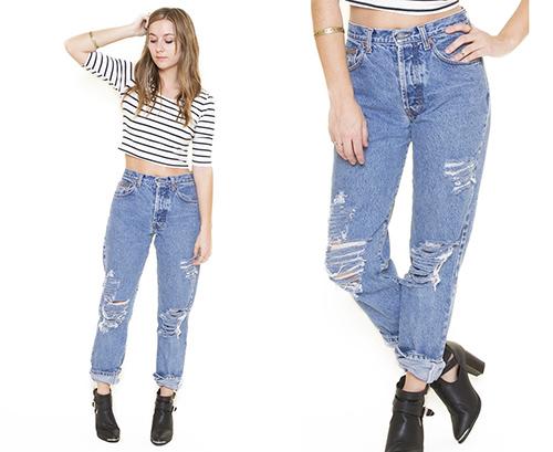 tu van thoi trang: chan ngan van mac jeans thung cuc chuan - 3