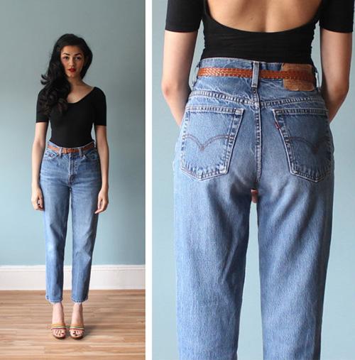 tu van thoi trang: chan ngan van mac jeans thung cuc chuan - 1
