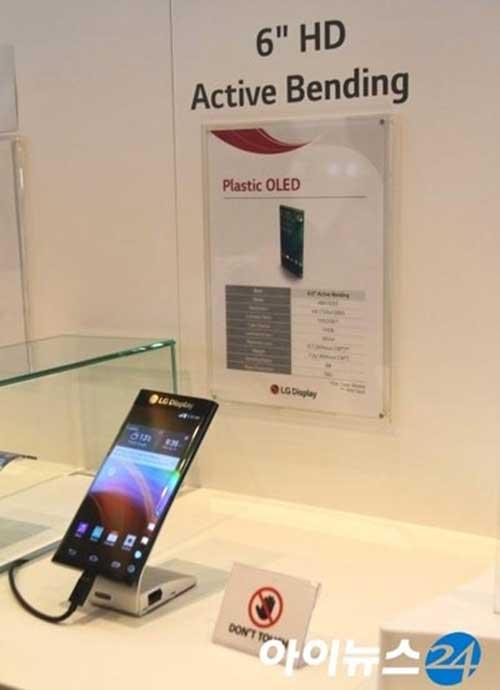 Lộ diện smartphone màn hình cong 2 bên của LG - 1