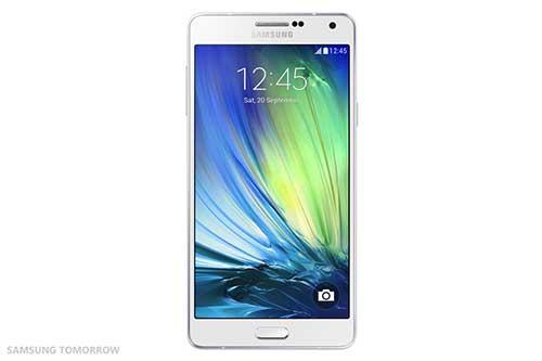 samsung ra mat galaxy a7: smartphone mong nhat cua hang - 2