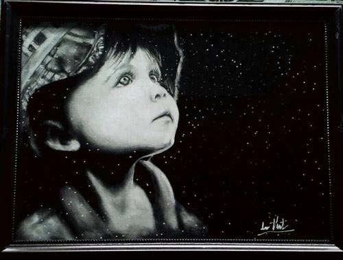 trien lam tranh day khat vong cua hoa si khuyet tat - 9