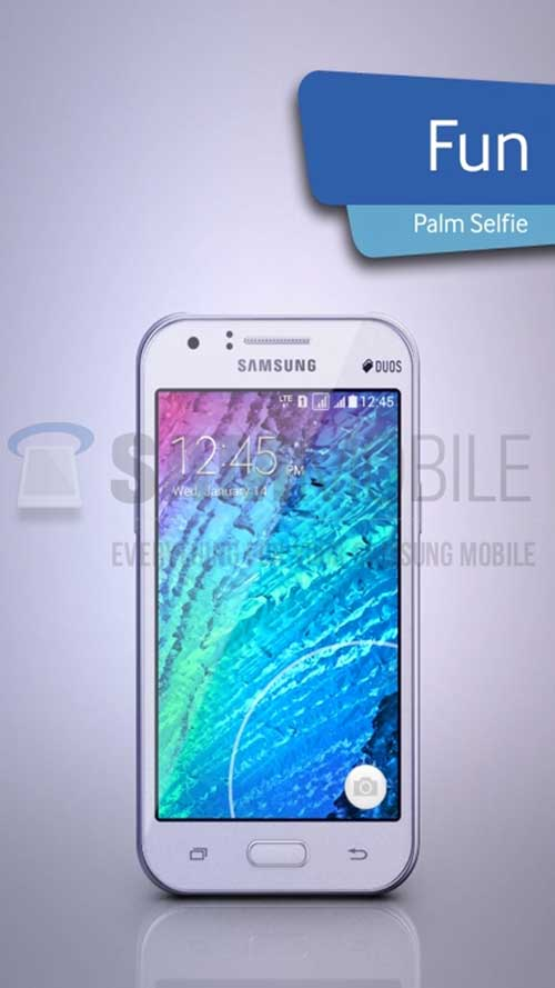 galaxy j1: smartphone dung chip 64-bit gia re cua samsung lo anh - 1