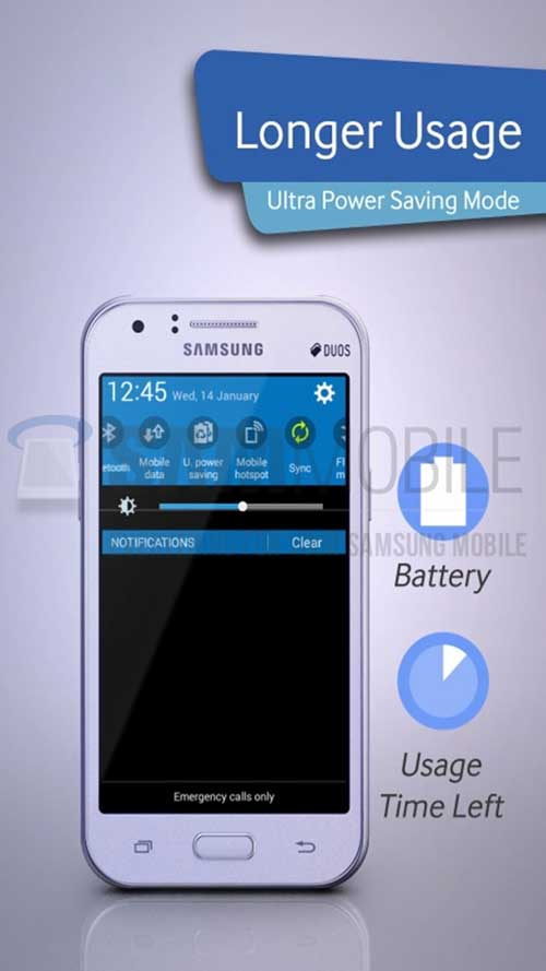 galaxy j1: smartphone dung chip 64-bit gia re cua samsung lo anh - 4