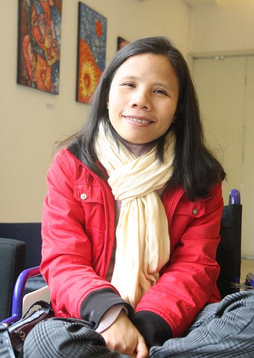 Nữ họa sĩ khuyết tật với động lực sống từ chuyện tình ảo-1
