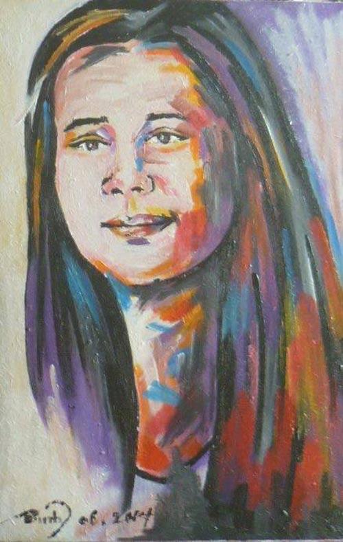 Nữ họa sĩ khuyết tật với động lực sống từ chuyện tình ảo-4