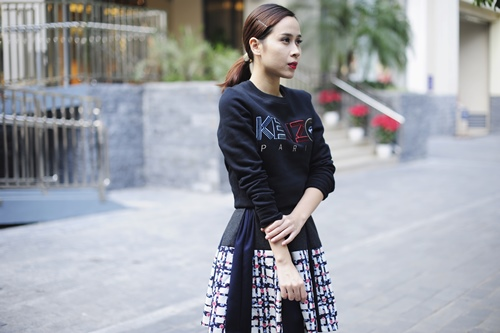 Lưu Hương Giang gây bất ngờ vì trẻ như nữ sinh 9X-5