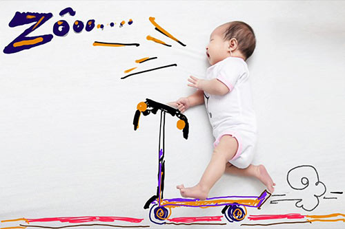"con gai ut ly hai ""cute"" trong bo anh phong cach nuoc ngoai - 1"