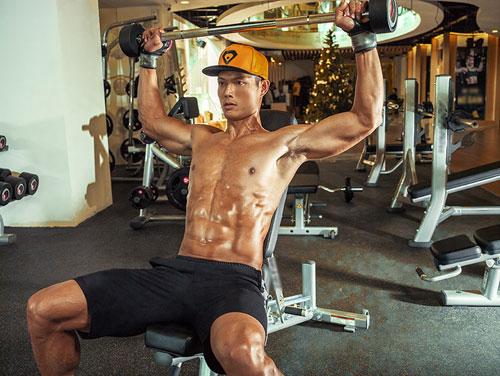 hot boy taekwondo viet nam khoe body 6 mui nong bong - 8