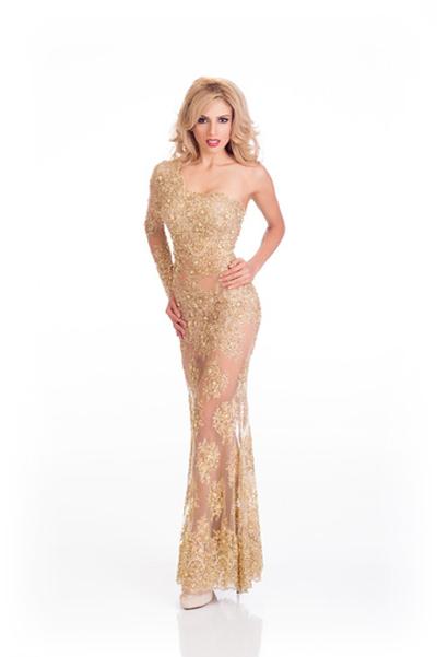 Mát mắt vì váy dạ tiệc táo bạo của hoa hậu Hoàn vũ 2014 - 3