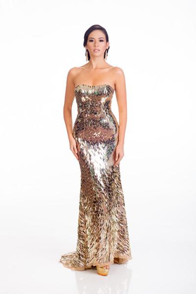 Mát mắt vì váy dạ tiệc táo bạo của hoa hậu Hoàn vũ 2014 - 20