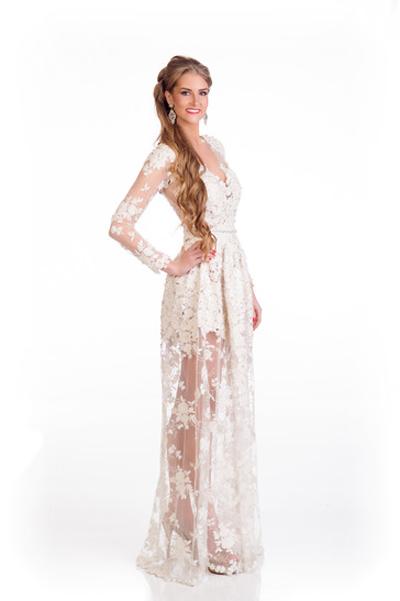 Mát mắt vì váy dạ tiệc táo bạo của hoa hậu Hoàn vũ 2014 - 10