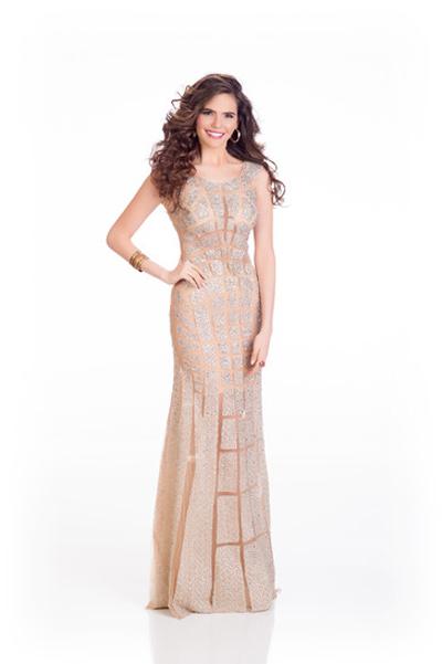 Mát mắt vì váy dạ tiệc táo bạo của hoa hậu Hoàn vũ 2014 - 7