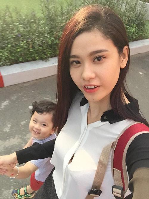 Giận Tim, Trương Quỳnh Anh ôm con rời khỏi nhà - 2