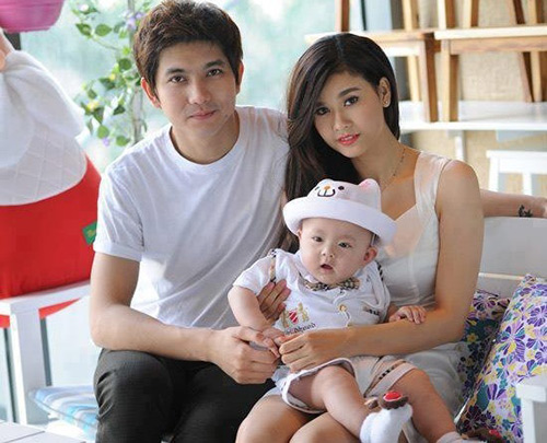 gian tim, truong quynh anh om con roi khoi nha - 3
