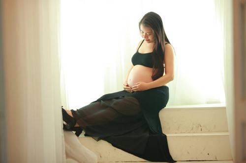 """Gặp mẹ bầu """"mỗi tháng chụp một bộ ảnh""""-9"""