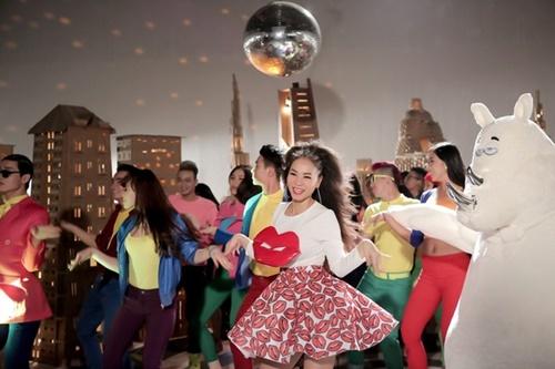 Thu Minh ra mắt MV trước ngày sinh nở-8