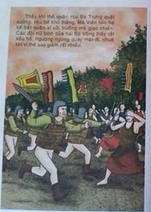NXB Giáo dục trả lời vụ sách lịch sử vẽ quân lính không mặc quần-1