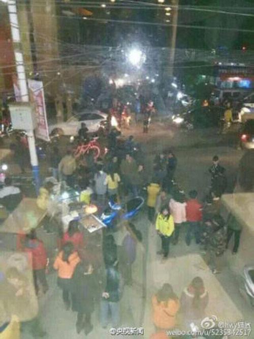 TQ: Nổ gas tại cửa hàng ăn khiến 25 người thương vong-1