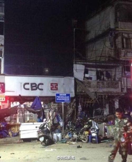 TQ: Nổ gas tại cửa hàng ăn khiến 25 người thương vong-3