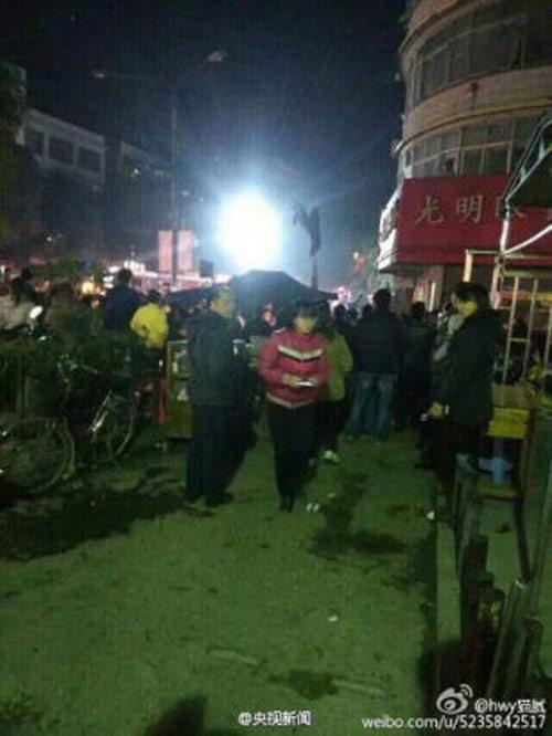 TQ: Nổ gas tại cửa hàng ăn khiến 25 người thương vong-5