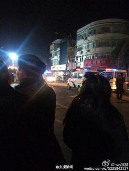 TQ: Nổ gas tại cửa hàng ăn khiến 25 người thương vong-6