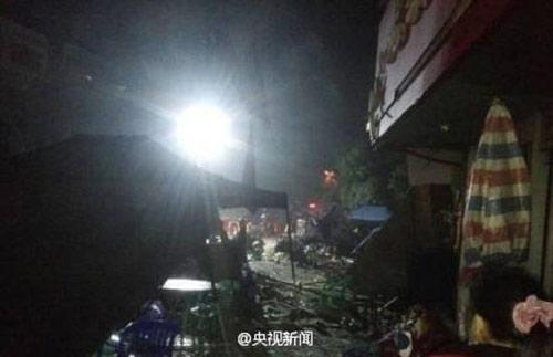 TQ: Nổ gas tại cửa hàng ăn khiến 25 người thương vong-8