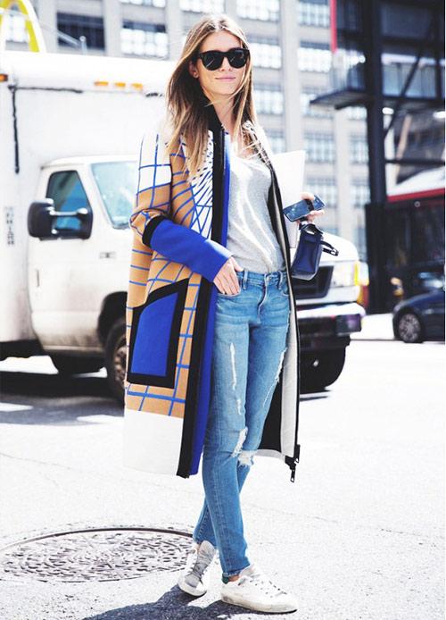 4 cách mặc áo khoác dáng dài thật đẹp cho mọi vóc dáng-2