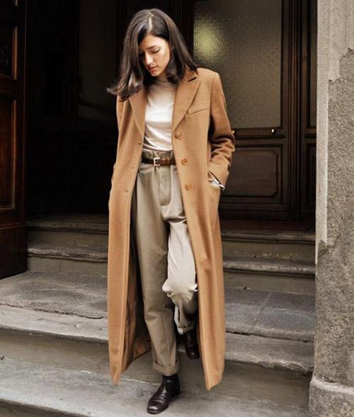 4 cách mặc áo khoác dáng dài thật đẹp cho mọi vóc dáng-10