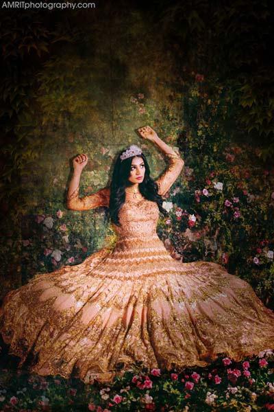 Cô dâu Ấn Độ hóa thân thành công chúa trong cổ tích-2