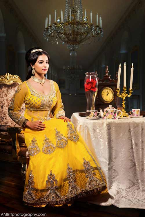 Cô dâu Ấn Độ hóa thân thành công chúa trong cổ tích-4