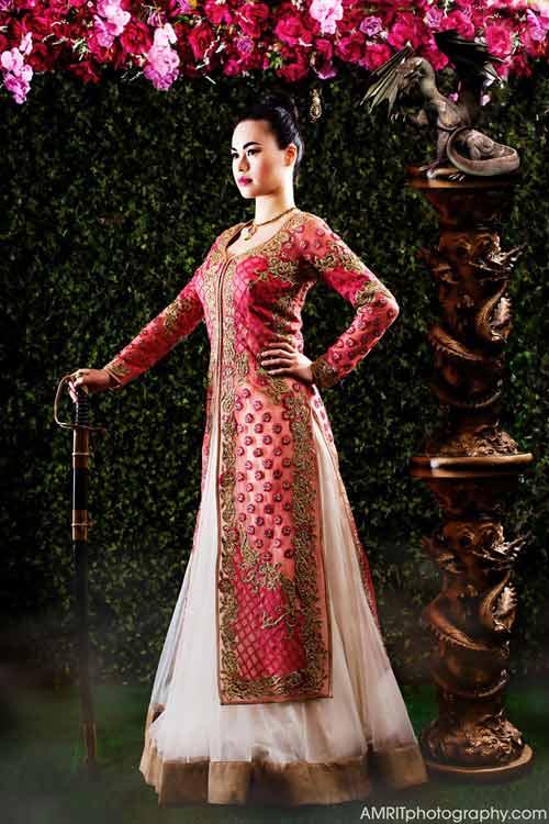 Cô dâu Ấn Độ hóa thân thành công chúa trong cổ tích-5