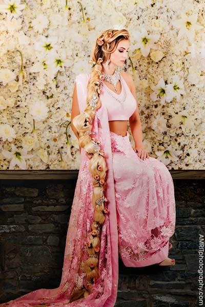 Cô dâu Ấn Độ hóa thân thành công chúa trong cổ tích-6