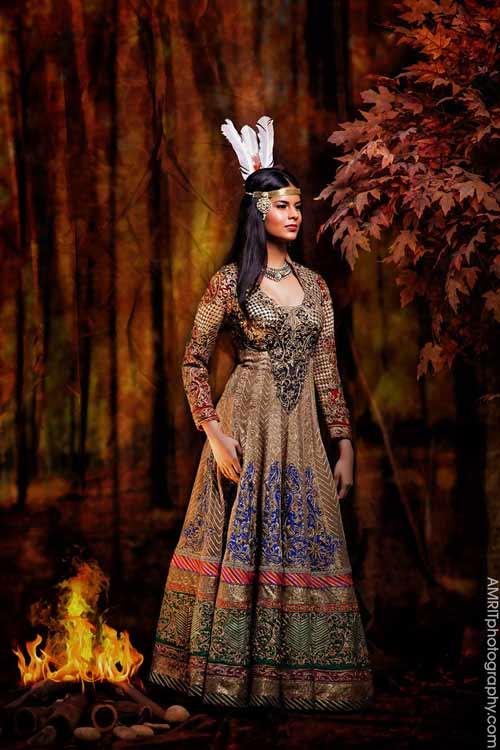 Cô dâu Ấn Độ hóa thân thành công chúa trong cổ tích-7
