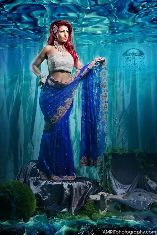 Cô dâu Ấn Độ hóa thân thành công chúa trong cổ tích-8