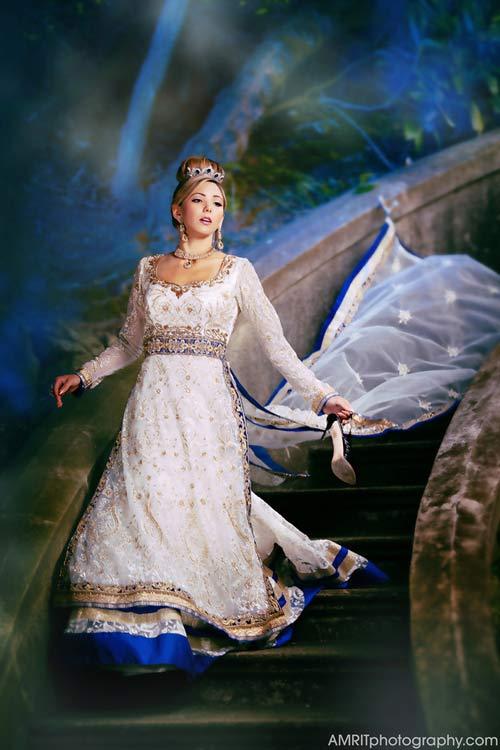 Cô dâu Ấn Độ hóa thân thành công chúa trong cổ tích-9