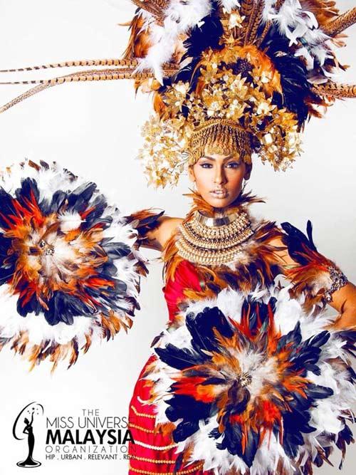 Trang phục dân tộc tại HH Hoàn vũ 2014 gây tranh cãi - 4