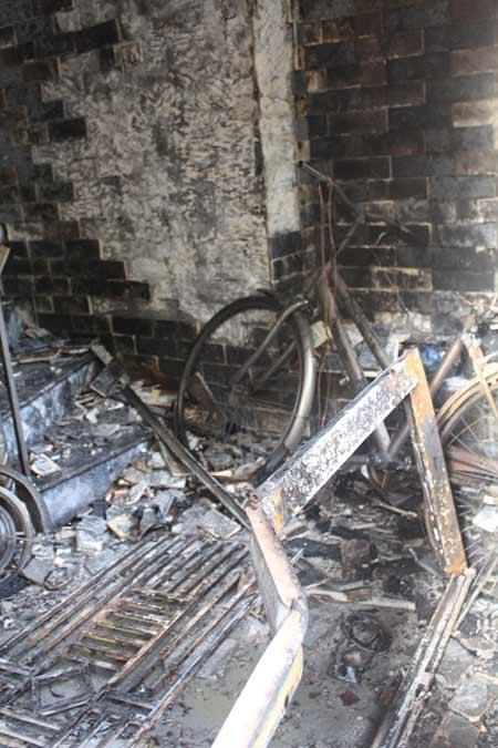 Cháy ở Hải Phòng: Mong manh giây phút sinh tử của cả gia đình-2