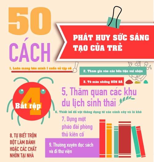 50 cách dạy con sáng tạo cực hữu ích cho mẹ-1