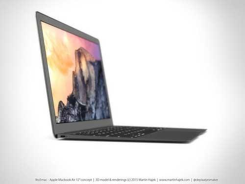 Ngắm concept chiếc MacBook Air kích thước 12 inch mà Apple sắp ra mắt-2